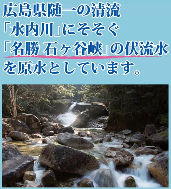 広島県随一の清流